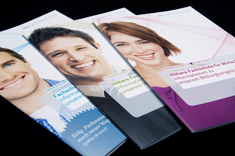 KS Kaderschulen: Corporate-Design, Website, Studienprogramme
