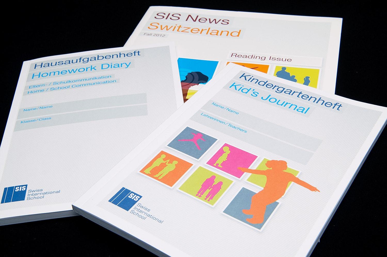 SIS Swiss International School: Neues Corporate-Design