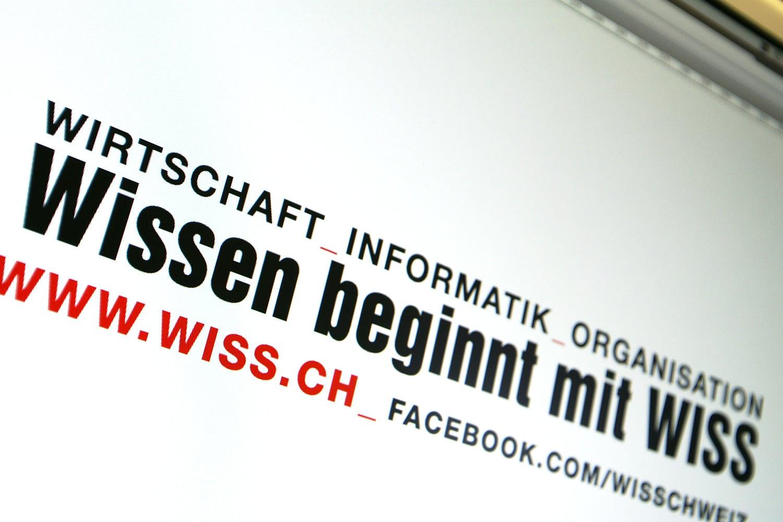 Wirtschaftsinformatikschule Schweiz WISS: Neuer Claim