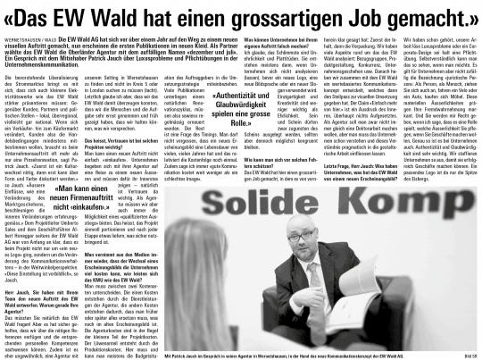 Zeitungsartikel-EW-Wald