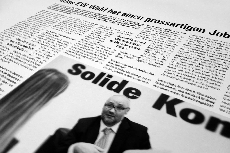 Heute im Zürcher Oberländer: Interview mit Patrick Jauch