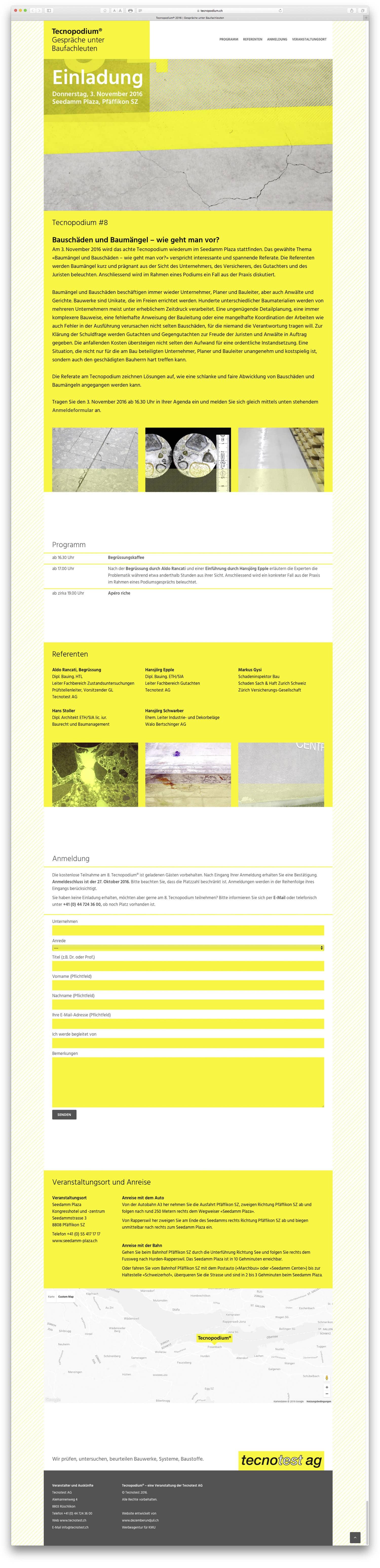tecnopodium-microsite