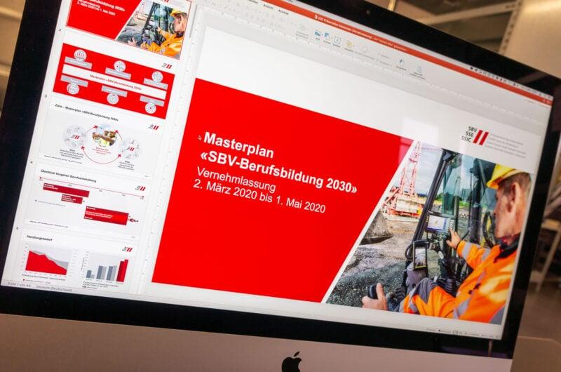 Erste Kommunikationsmassnahmen für das Projekt «SBV-Berufsbildung 2030» umgesetzt