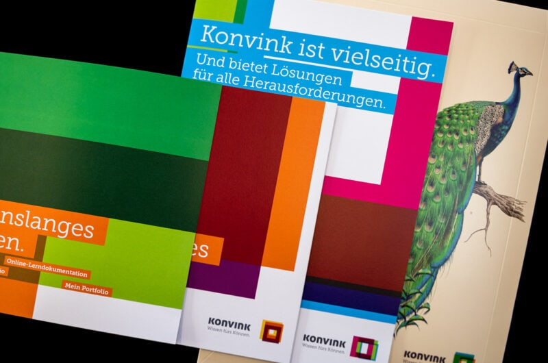 Aus digital mach analog: fantastisches Direct Mailing für Konvink
